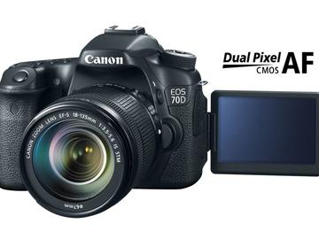 Rent: Canon 70d body