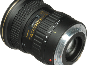 Rent: Tokina 11-16mm f/2.8 for Canon EF