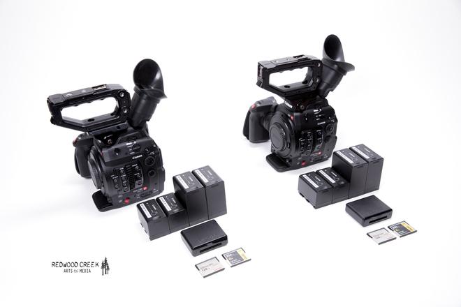 Canon C300 Mark II Multi-Cam (2 cam) + Compact Zooms