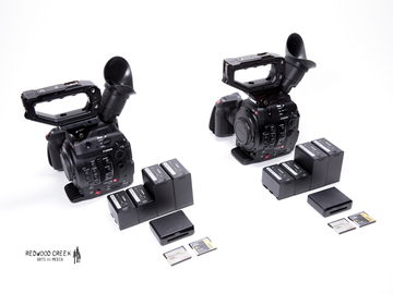 Rent: Canon C300 Mark II Multi-Cam (2 cam) + Compact Zooms