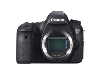 Rent: Canon EOS 6D DSLR Camera 20.2MP Full-Frame