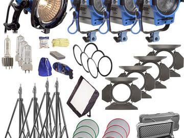 Rent: Arri Kit - Chimera / 750W / 3x 650W