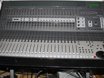 Rent: Control 24 mixing console with Mogami cables up to 10HD comp