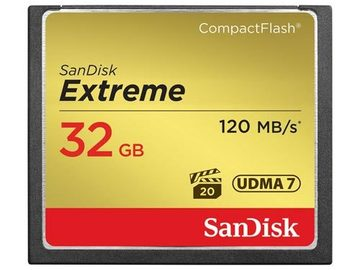 Rent: Sandisk CF Card 32GB