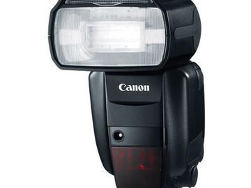 Rent: Canon Speedlite 600EX RT Flash