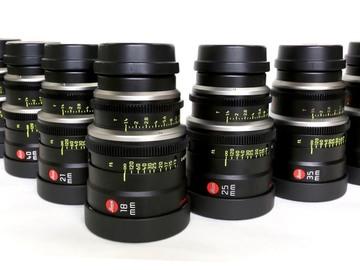 Rent: Leica Summilux-C Lens Set