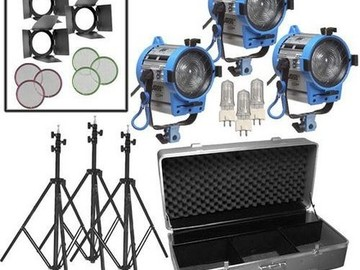 Rent: Arri Kit w/ Softbox
