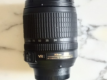 Rent:  Nikon AF-S  DX 18-105mm f/3.5-5.6G ED VR Lens