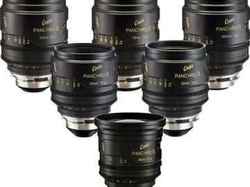 Rent: Cooke Mini S4i Lens Set