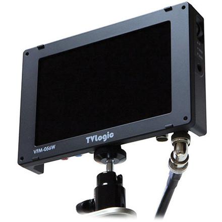 TV Logic VFM-056W w/ Canon LP-E6 Battery Mount