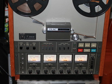 Rent: TEAC A3440 in mint shape, aligned oiled and shop maintenance