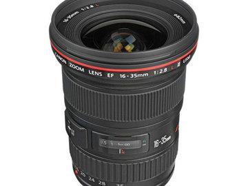 Rent: Canon 16-35mm f/2.8L II