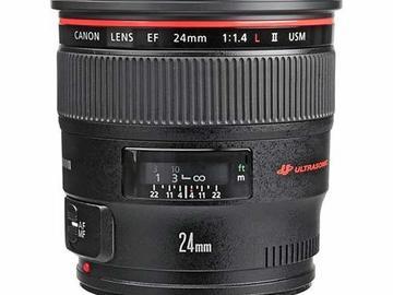 Rent: Canon 24mm f/1.4L II