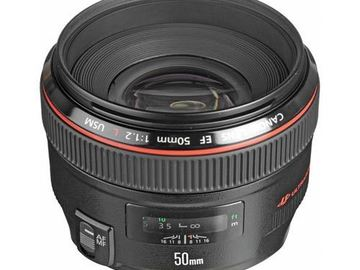 Rent: Canon 50mm f/1.2L
