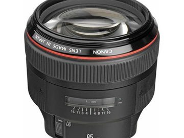 Rent: Canon 85mm f/1.2L II