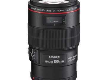 Rent: Canon 100mm f/2.8L Macro IS