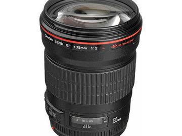 Rent: Canon 135mm f/2L