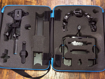Rent: Rhino Shoulder Rig - Complete w/ Case, weight, and QR