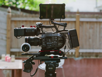 Rent: Full Sony FS7 Package with Recorder, Lenses, and Tripod