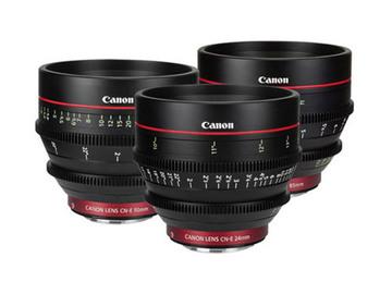 Rent: Canon CN-E 3x Lens Set
