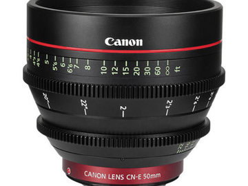 Rent: Canon CN-E 50mm T1.3 EF