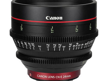 Rent: Canon CN-E 24mm T1.5 EF