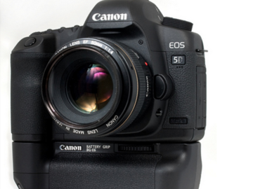 Rent: Canon EOS 5D Mark II w/ grip + 24-105mm + mic Package