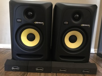 "Rent: KRK Rockit5 G3 5"" Powered Studio Monitors"