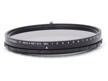 Rent: SLR Magic 77mm Variable ND 0.4 to 1.8 Filter 1.3 to 6 Stops