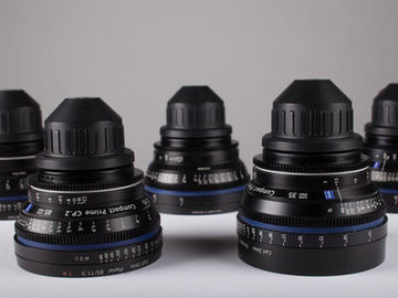 Rent: Zeiss CP2 Super Speed 5 Lens Set 2 day special