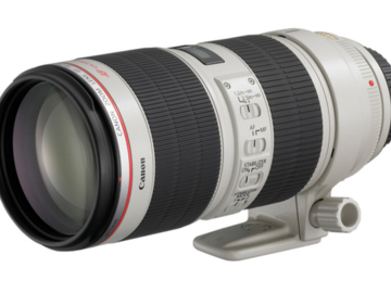 Rent: (x3) Canon 70-200, (x1) Canon 24-70  (6) Cfast2.0 cards