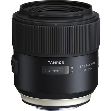 Tamron SP 85mm f/1.8 Di VC USD Lens for Canon EF or Sony FE