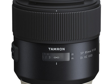 Rent: Tamron SP 85mm f/1.8 Di VC USD Lens for Canon EF or Sony FE