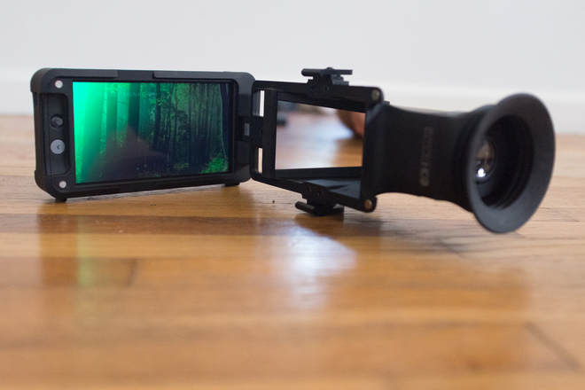 SmallHD 502 On-Camera Monitor with Sidefinder EVF
