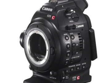 Rent: Canon C100 w Canon EF-S 17-55mm f/2.8 IS USM Lens