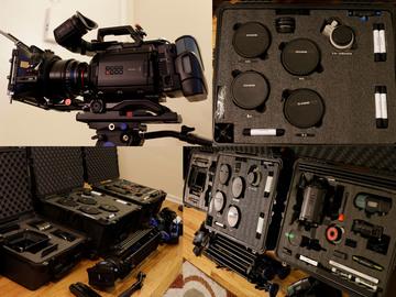 Rent: URSA Mini 4.6k w/ Lenses, MatteBox, & More