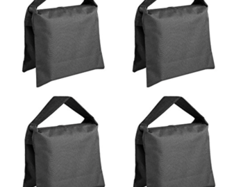 Rent: 4 Heavy Duty Photographic Sandbag