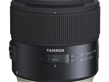 Rent: Tamron SP 35mm f/1.8 Di VC USD Lens for Canon EF
