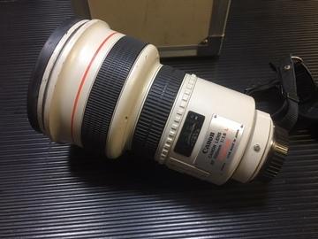 Canon Eos 200 mm 1.8 Ultrasonic