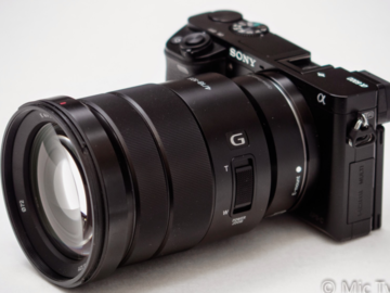 Rent: Sony a6300 w/ 18-105 F4 G OSS lens and aks