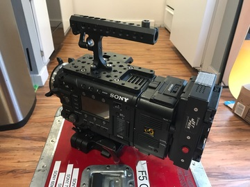 Rent: Sony F5 4k Raw Package Complete w/ Accessories + Media/Power