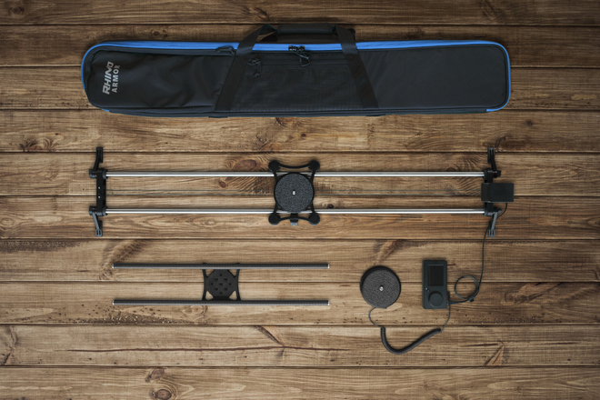 Rhino Ultimate Slider Bundle with Manfrotto Ball Head