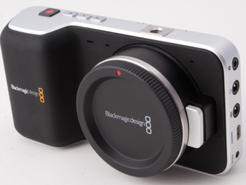 Blackmagic Pocket Camera, Tilta Rig & Z-Finder (NO LENS)
