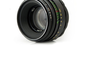 Rent: Zenit Helios 44-2 58mm f/2 Prime Lens M42 w/Nikon F Adapter