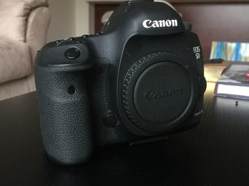 Rent: Canon 5D MKIII Body