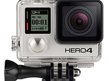 Rent: GoPro Hero 4 w/ Two Battery Charger and Extra Batteries