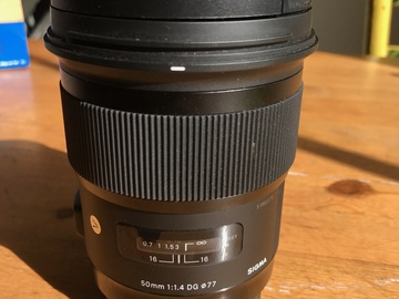 Rent: Sigma 50mm F/1.4 ART + Hoya Variable ND Filter