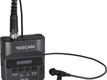 Rent: TASCAM DR-10L Digital Audio Recorder (1 of 2)