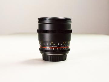 Rent: Rokinon 85mm Prime Cine Lens
