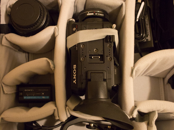 Rent: Sony FS5 kit + with Canon 24-105mm f/4